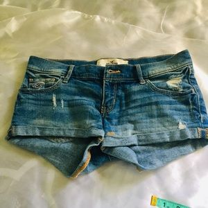 Hollister Jeans Shorts Size 25